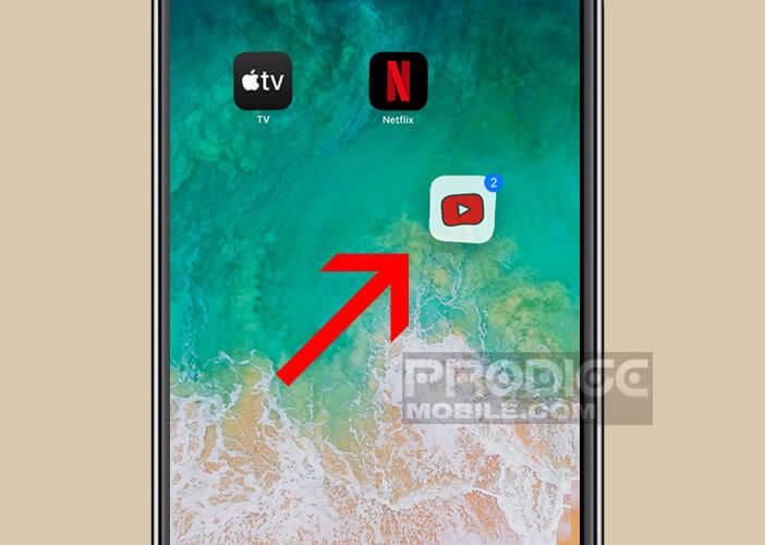 Déplacer plusieurs icônes en les superposant l'une au-dessus de l'autre