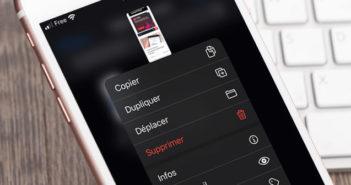 Partager un fichier provenant du service de stockage en ligne iCloud