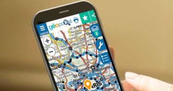 Définir la zone de 100 km autour de votre domicile