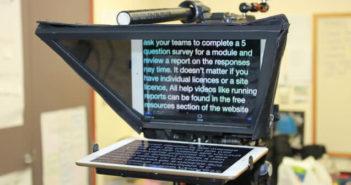 Activer le mode prompteur de l'iPad pour réaliser des vidéos