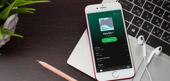 Bloquer les chansons d'une playlist Spotify