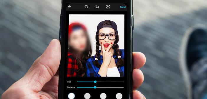 Flouter une zone précise sur une image pour camoufler un visage
