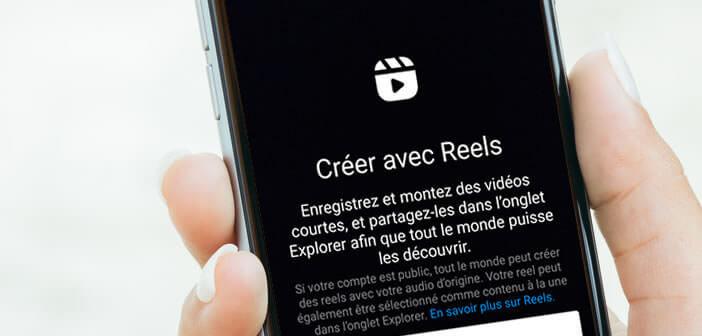 Créer votre premier Reels avec l'application Instagram