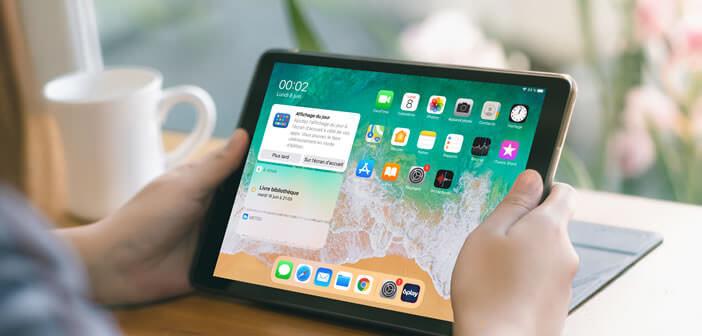 Configurer le nouvel écran d'accueil de l'iPad