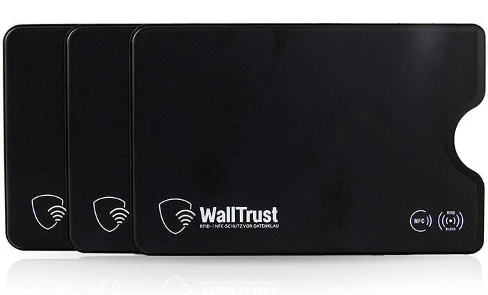 Etui de protection protégeant les cartes bancaires des ondes RFID