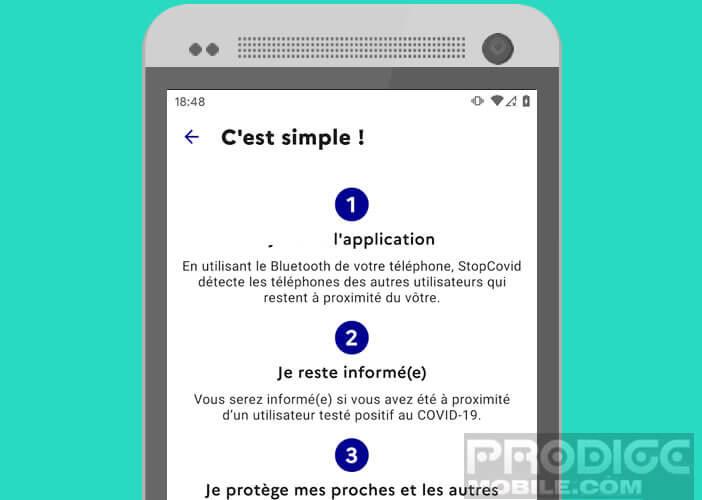 Guide pour apprendre le fonctionnement de StopCovid