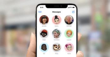 Epingler les fils de discussion de contact important dans iMessage