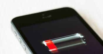 Forcer l'iPhone à fonctionner avec le mode économie d'énergie