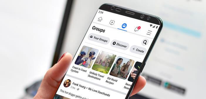 Procédure pour supprimer un groupe Facebook depuis un smartphone