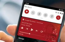 Contrôler votre musique depuis les paramètres rapides d'Android