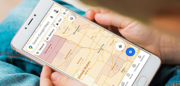 Afficher le taux d'incidence du Covid sur Google Maps