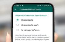 Comment masquer votre statut sur WhatsApp