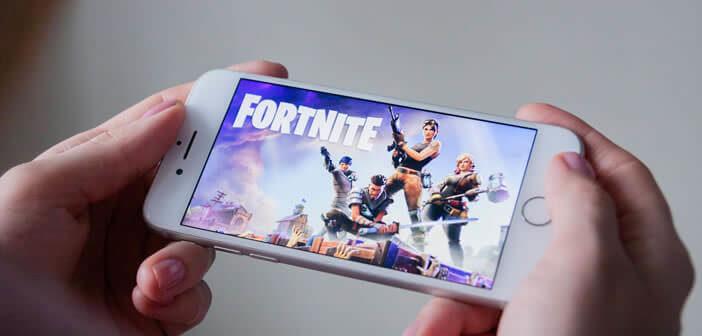 Réinstaller le jeu Fortnite sur un iPhone