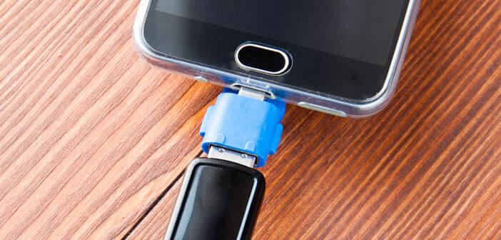 Une application pour vérifier si la tablette ou le smartphone prend en charge l'USB OTG