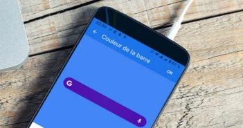 Changer l'interface du widget de recherche Google