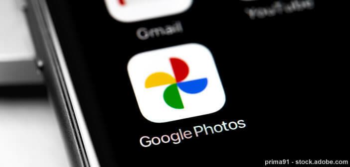 Créer un live album sur Google Photos