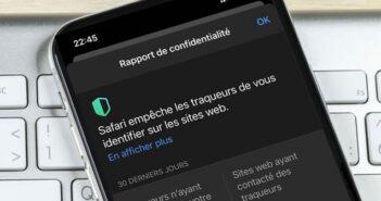 Afficher le rapport de confidentialité sur Safari pour iPhone