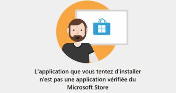 Activer le système de protection d'application vérifiée de Windows Store