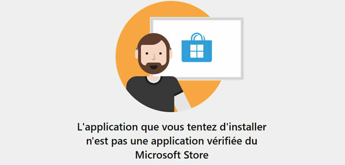 Activer le système de protection d'application vérifiée de Windows Store