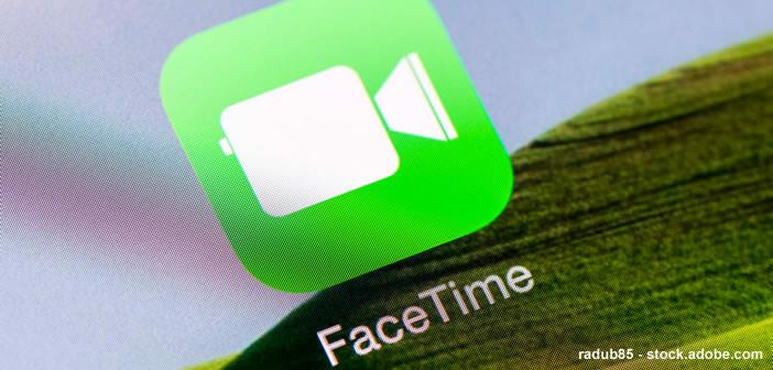 Enregistrer et regarder un appel vidéo FaceTime