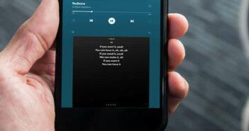 Afficher les paroles de vos chansons en temps réel sur Spotify