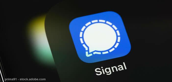 Personnaliser l'apparence et le fond d'écran des discussions Signal