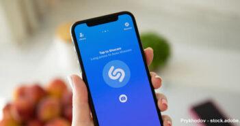 Placez un raccourci vers le service Shazam dans le centre de contrôle de iOS
