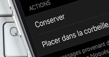 Forcer votre iPhone à placer dans la corbeille les e-mails des contacts bloqués