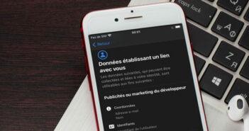 Consulter les fiches de confidentialité des applis sur votre iPhone