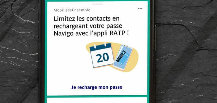 Renouveler son abonnement Pass Navigo sur son iPhone