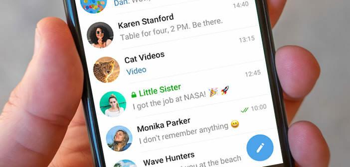 Activer le chiffrement de bout en bout sur vos discussions Telegram