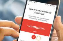 Configurer une nouvelle voix sur l'assistant de Google