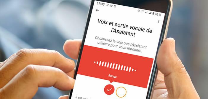 Modifier la voix de l'assistant de Google