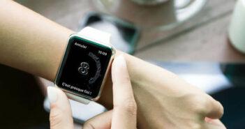 Configurer le rappel de lavage des mains sur l'Apple Watch
