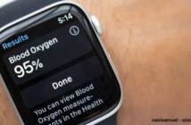 Apple Watch : vérifier son niveau d'oxygène dans le sang