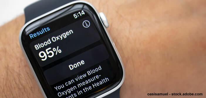 Mesurer le taux d'oxygène dans le sang avec son Apple Watch