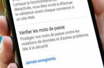 Chrome : détecter les mots de passe dont la sécurité a été compromise
