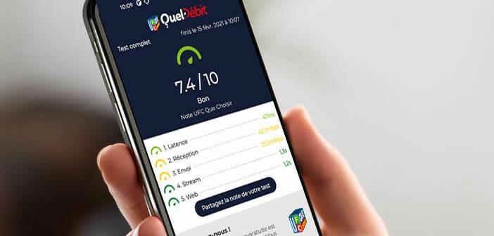 Mesurer la qualité de votre connexion internet avec l'appli QuelDébit