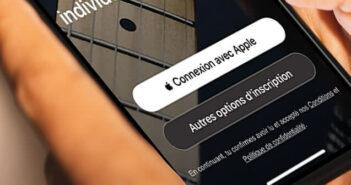 Utiliser le service Connexion avec Apple
