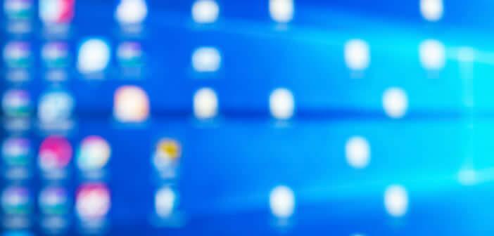 Masquer automatiquement toutes les icônes du bureau de Windows
