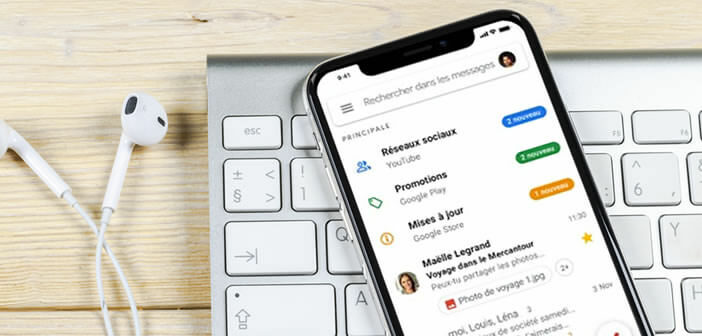Synchroniser vos contacts iPhone dans l'application Gmail