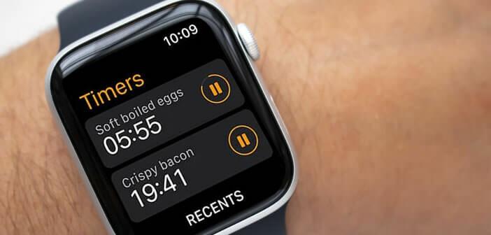 Lancer plusieurs minuteurs simultanément sur votre Apple Watch